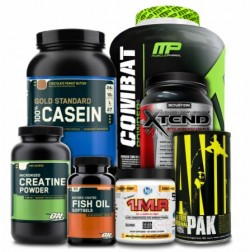 Supplement stores can be overwhelming, and salespeople will push everything on you. Do your homework BEFORE going!