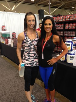 Had a good chat with Ms. Bikini Olympia, Ashley Kaltwasser. She won the TO pro show on Saturday night.