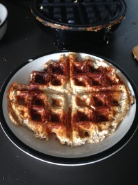 Waffle 4 - still sad, but someone might identify it as a waffle at least.