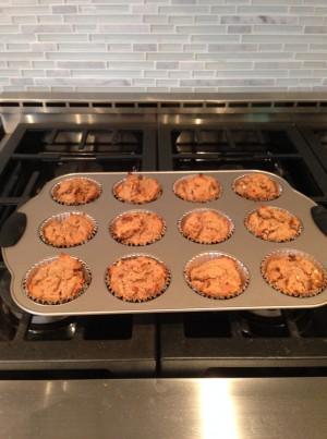 coco muffins