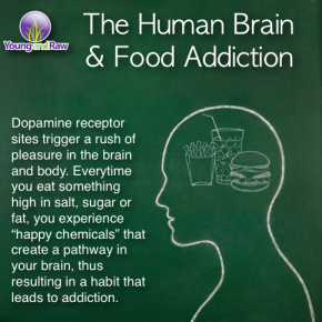 Food can have the same impact on the chemicals in your brain the same way drugs do.