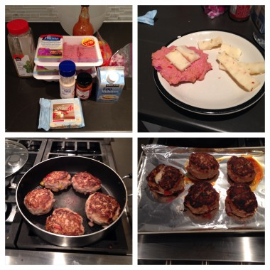Another bonus of making burgers at home - there are extra burgers for the next day!