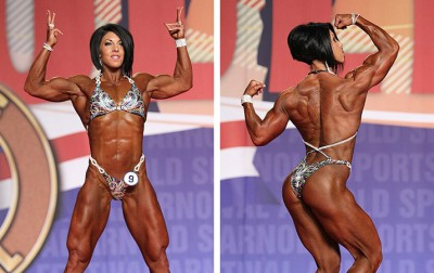 Dana Linn Bailey looked incredible, as usual.  Her posing routine was the highlight of my weekend. No one comes close to her this aspect.