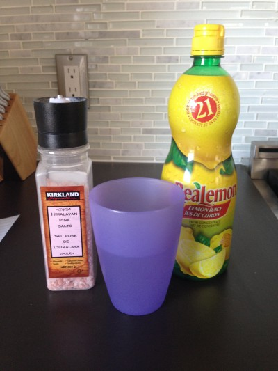 This one simple drink first thing in the morning packs a lot of health benefits... just think of it as lemonade!