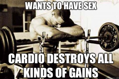LOL. Cardio's not that drastic... but we still don't want to spend hours on the stair master.