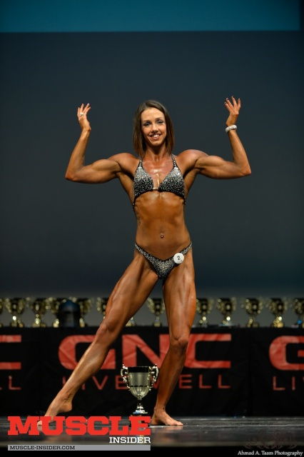 My second competition in the women's physique category.